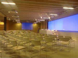 sala de audicion